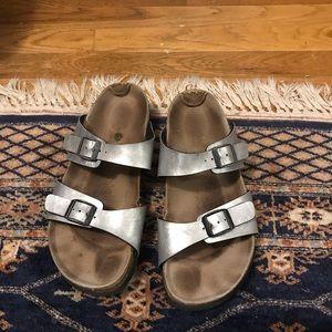 birkenstock betula double strap sandals 40/9